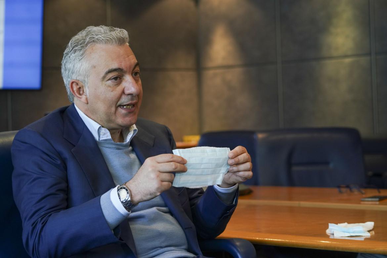 Il commissario straordinario all'emergenza Covid, Domenico Arcuri