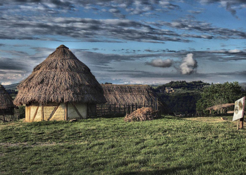 Una veduta dell'Archeodromo di Poggibonsi, foto di Graziano Signorini