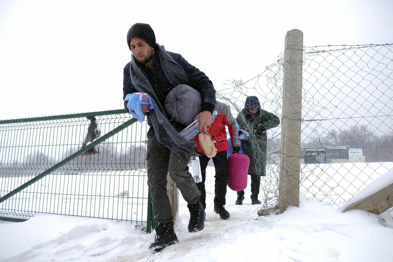 Nel campo di Lipa in Bosnia, vicino al confine croato
