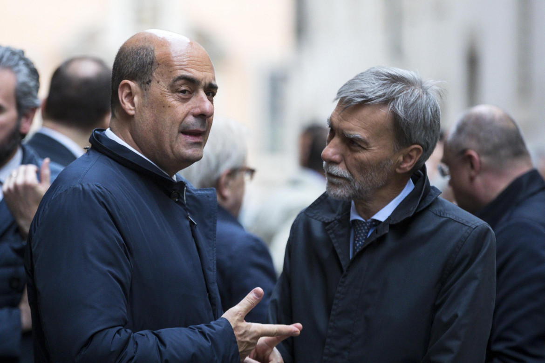 Nicola Zingaretti e Graziano Delrio