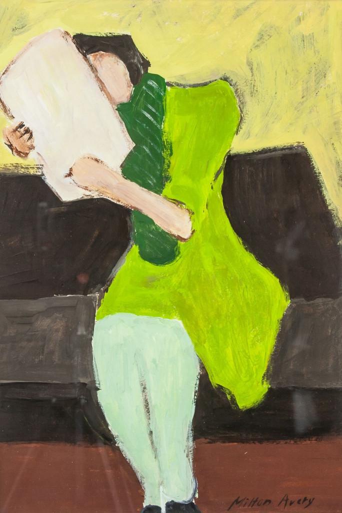 Milton Avery, «Seated Figure», 1957