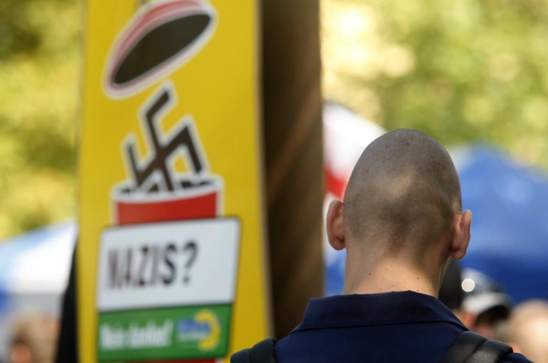 Neonazi alla manifestazione di Dortmund, 2009