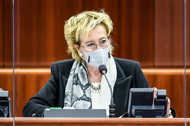 L'assessora lombarda al Welfare, Letizia Moratti