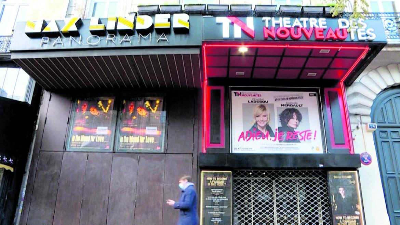 Un teatro chiuso in Francia.