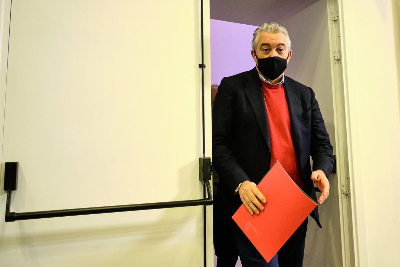 Il commissario all'emergenza Covid, Domenico Arcuri