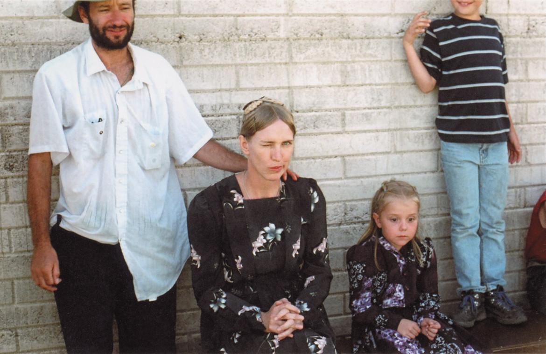 Miriam Toews sul set di «Luz Silenciosa», un film diretto nel 2007 da Carlos Reygadas (licenza creative commons)