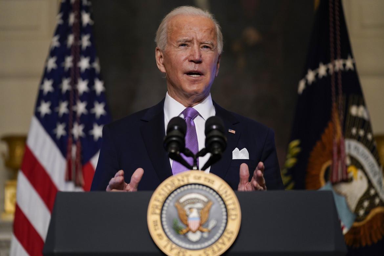 Il presidente americano Joe Biden