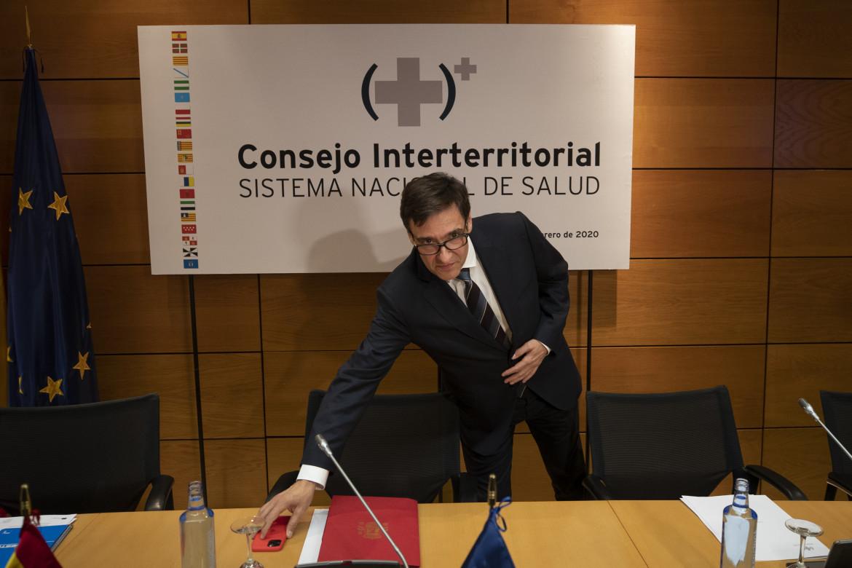 L'ex ministro della Sanità spagnola Salvador Illa