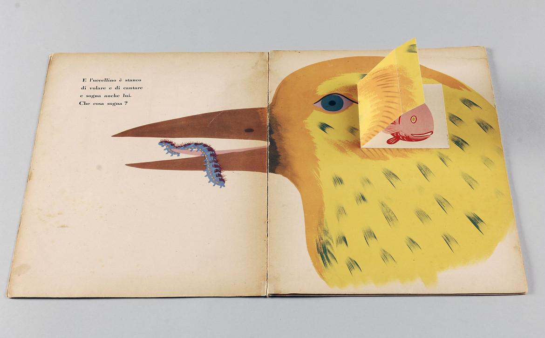 Bruno Munari,  Mai contenti, Mondadori, 1945