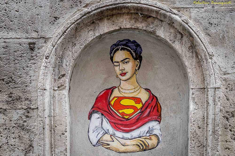 Un murale delle Diesis