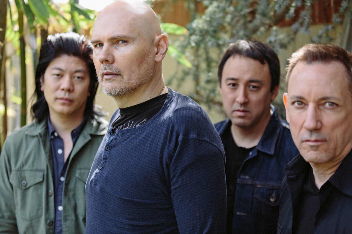Billy Corgan e gli Smashing Pumpkins