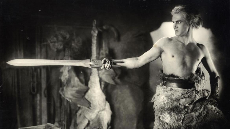 Paul Richter nel film muto di Fritz Lang  Die Nibelungen: Siegfried, 1924