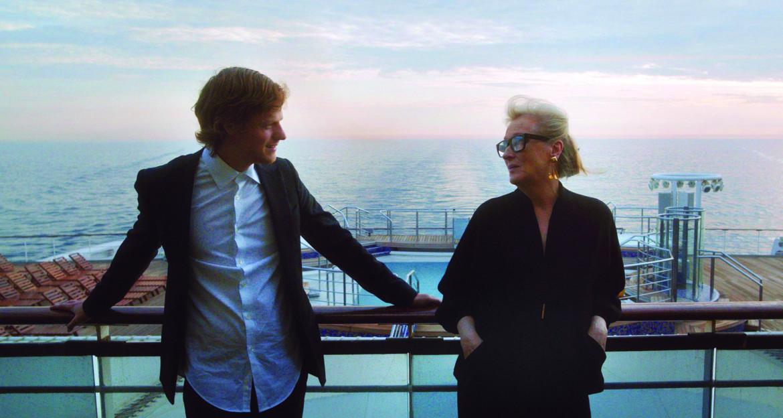 Meryl Streep e Lukas Hedges in «Let Them All Talk,