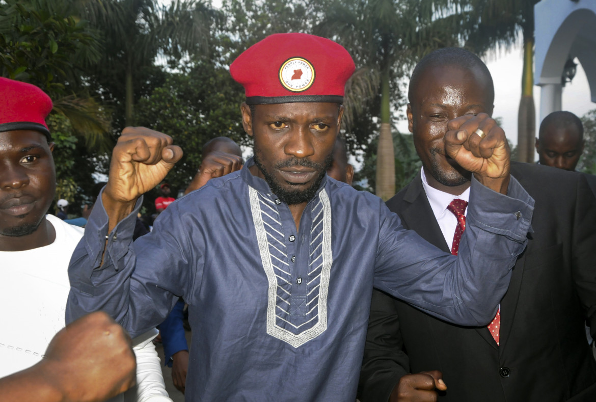 Robert Kyagulanyi, alias Bobi Wine