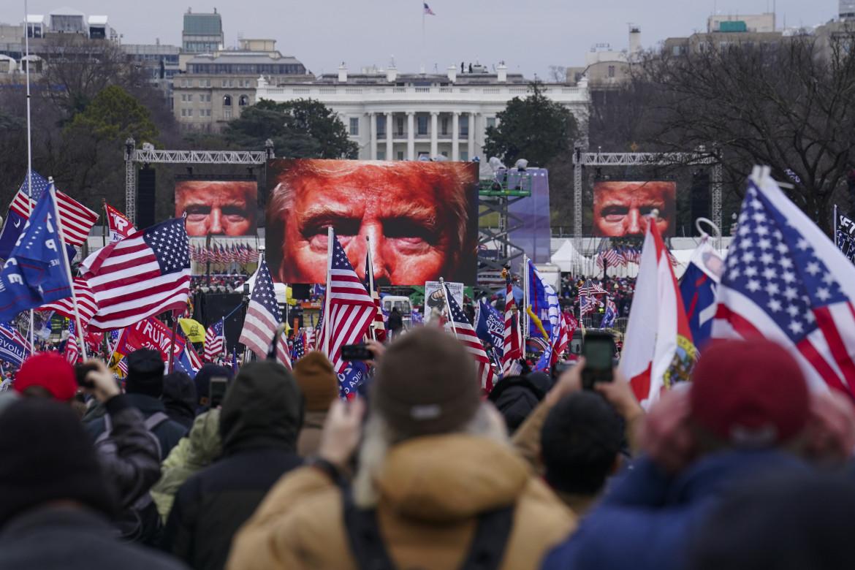 Manifestazione pro Trump.