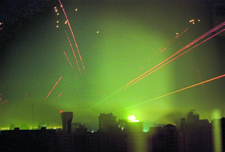 I bombardamenti su Baghdad