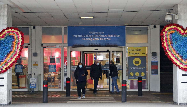 L'ospedale di Charing Cross a Londra