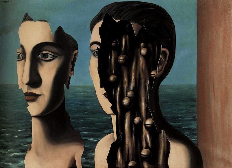 René Magritte, «Il doppio segreto», 1927