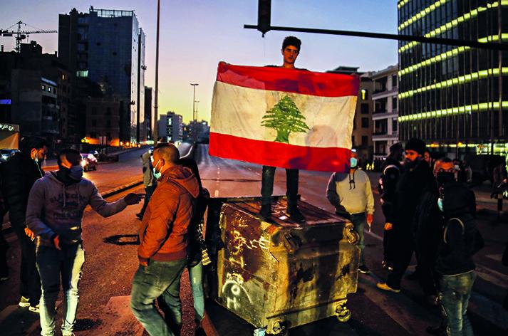 Protesta a Tripoli, Libano
