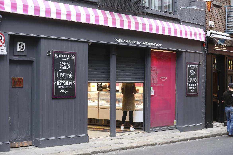 Un negozio di Dublino