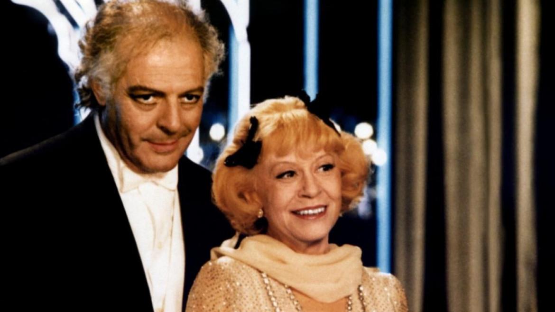 Giulietta Masina e Marcello Mastroianni, «Ginger e Fred», 1986
