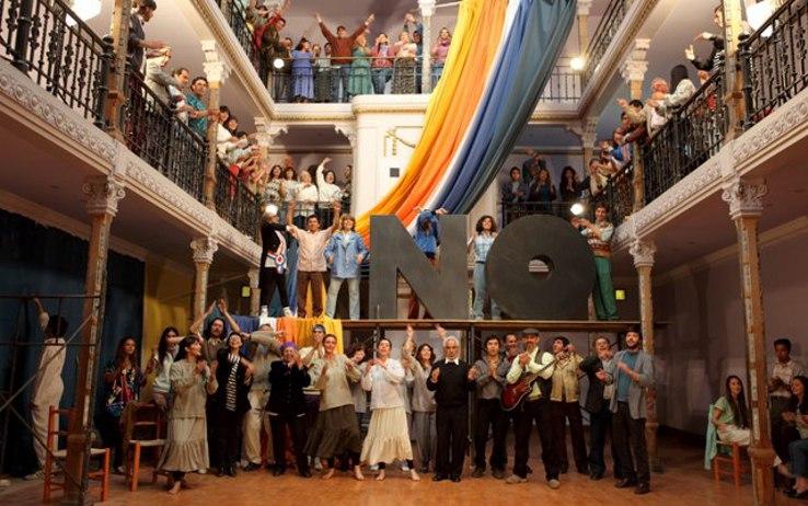 Una scena dal film  «No, i giorni dell'arcobaleno» di  Pablo Larraín