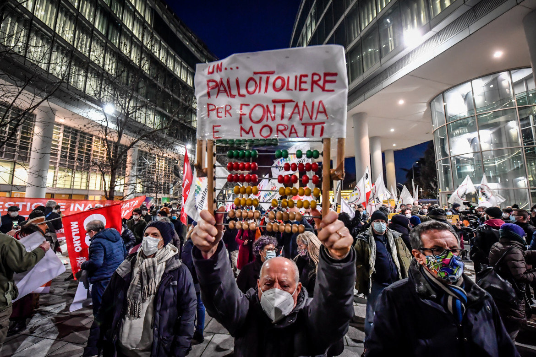 La protesta «Ora basta» martedì davanti al Pirellone