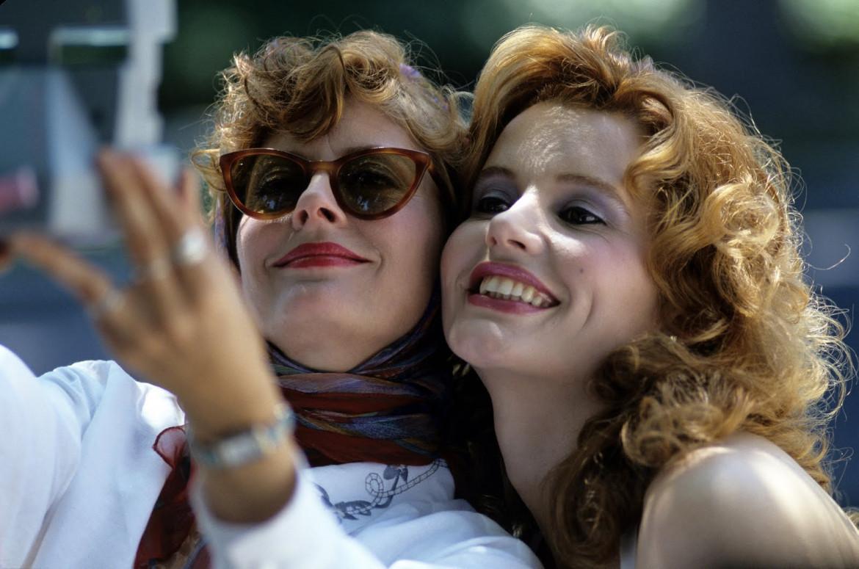 Susan Sarandon e Geena Davis in «Thelma & Louise» (1991)