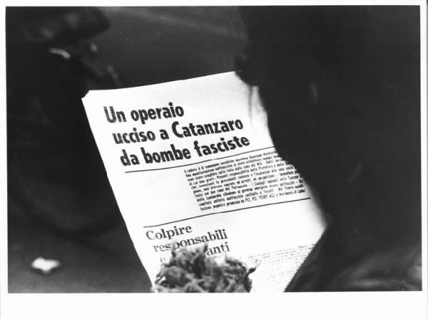 Un giornale d'epoca