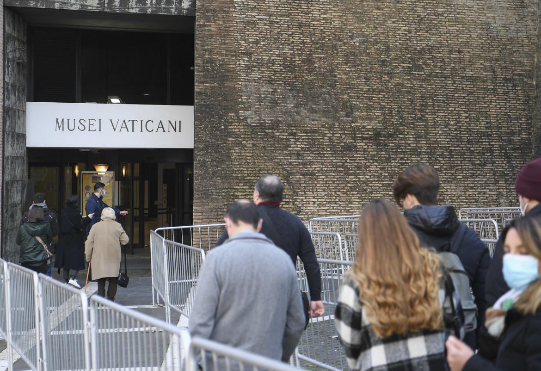 Riapertura dei Musei Vaticani, Roma