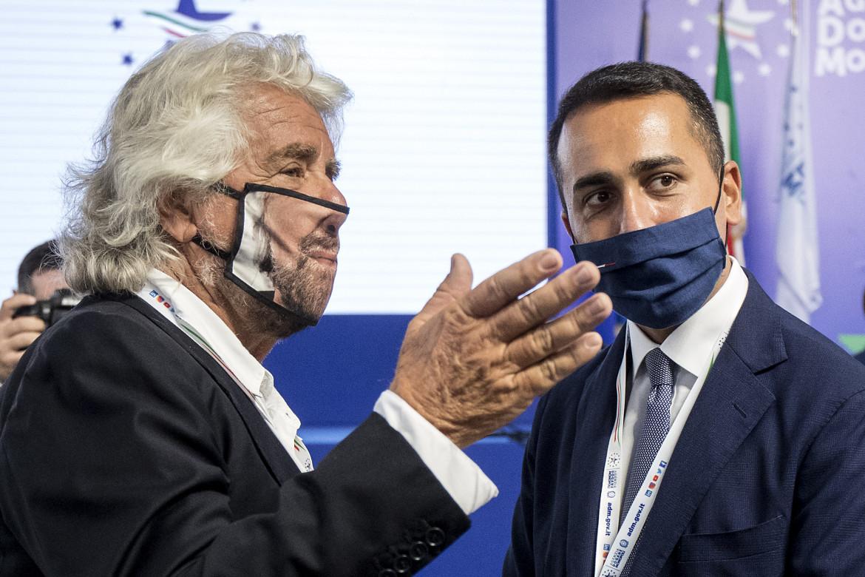 Beppe Grillo e Luigi Di Maio