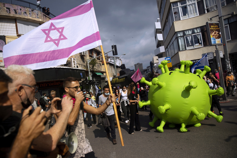 Protesta oggi a Tel Aviv contro Netanyahu