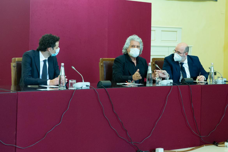 Beppe Grillo alle consultazioni