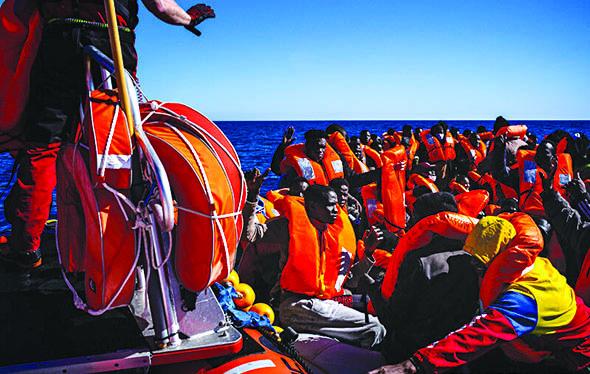 Migranti salvati nel Mediterraneo