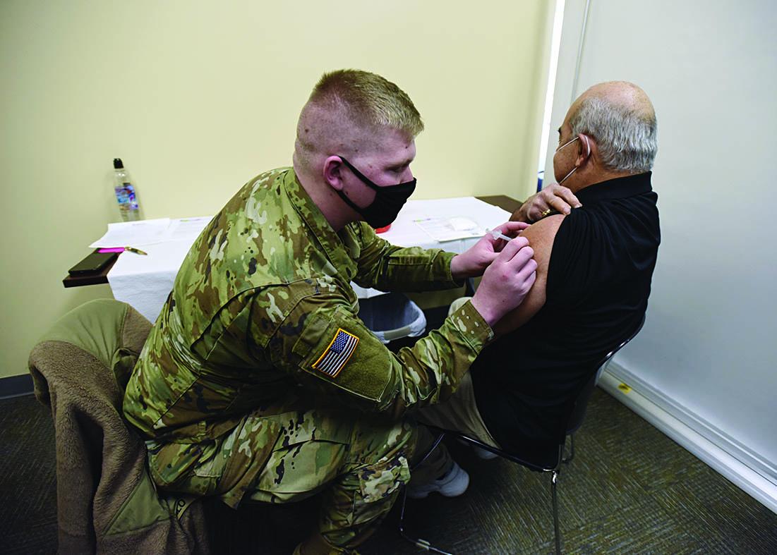 Vaccino alla Guardia nazionale