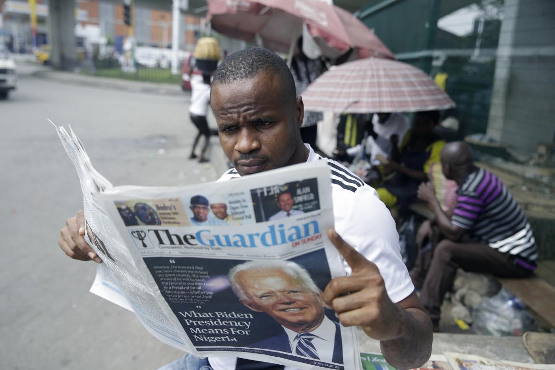 Lagos, Nigeria. L'elezione di Joe Biden alla Casa bianca, e cosa questo significa per la Nigeria, sul quotidiano locale The Guardian