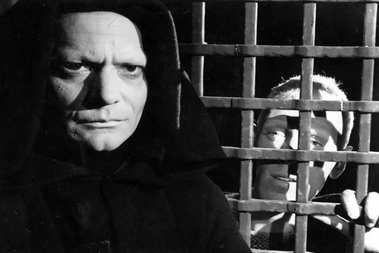 Una scena dal film Il settimo sigillo  di Ingmar Bergman, Svezia, 1956