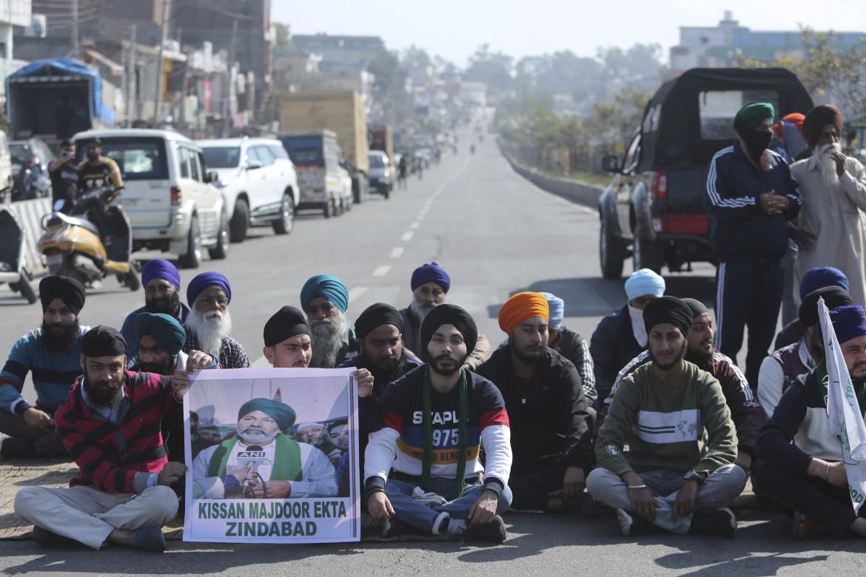 La protesta dei contadini indiani