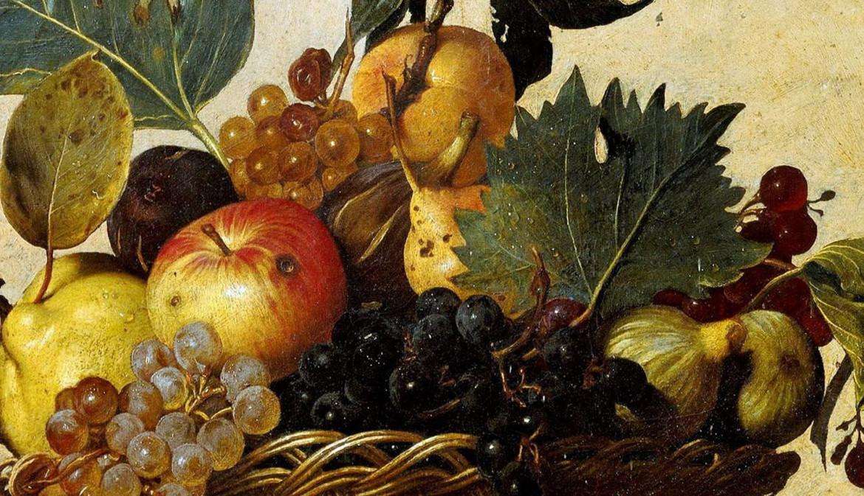 Canestra di frutta. (Particolare). 1599