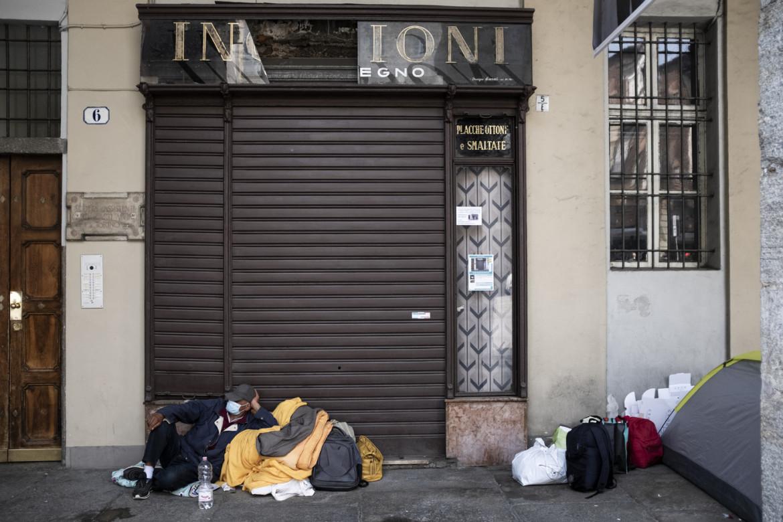 Senza tetto a Torino