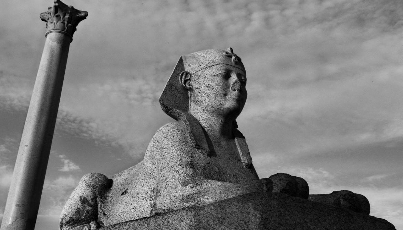Josef Koudelka, Egitto, Alessandria, parco archeologico, 2012 © Josef Koudelka / Magnum Photos