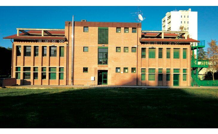 La scuola media Panzacchi di Ozzano dell'Emilia