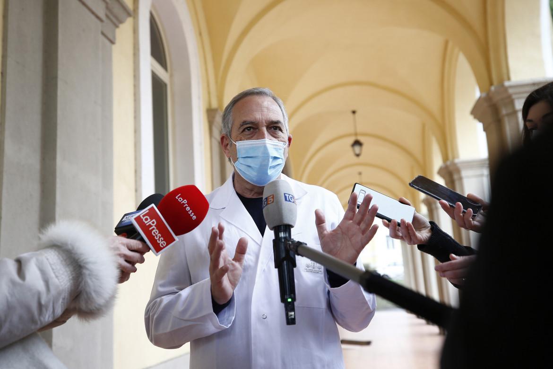 Francesco Vaia dell'Istituto Spallanzani spiega la campagna regionale del Lazio per la vaccinazione anti-Covid19