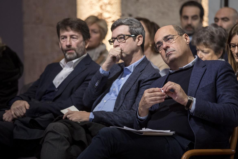 Zingaretti, Orlando e Franceschini