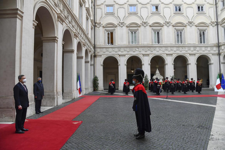 Ingresso di Palazzo Chigi