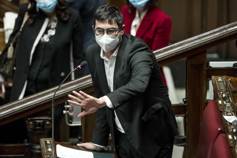 Il segretario di Sinistra Italiana Nicola Fratoianni