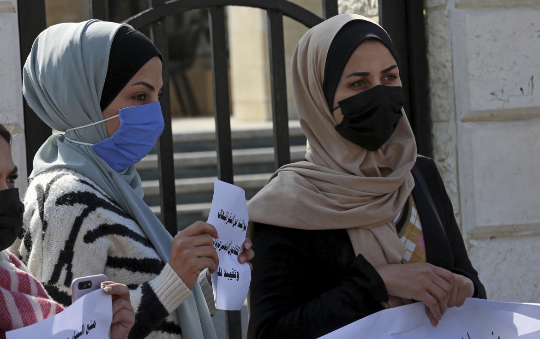 Gaza. Protesta contro la sentenza