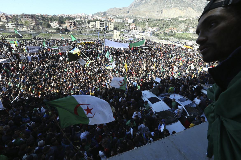 La marcia di martedì scorso a Kherrata, dove tutto è iniziato
