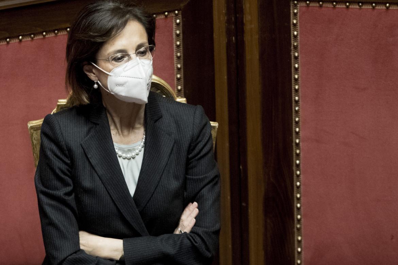 La neo ministra della giustizia Marta Cartabia