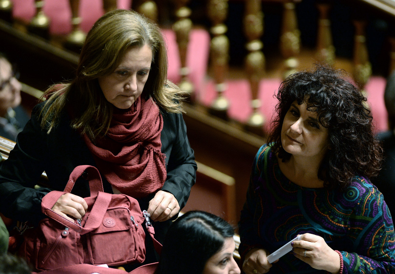 Elena Fattori e Paola Nugnes